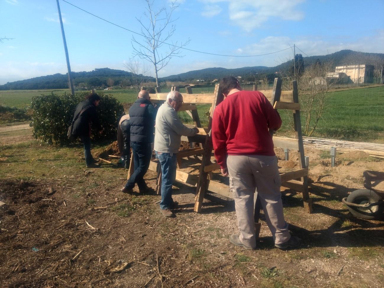 Estructura per als horts municipals de Palafrugell ...
